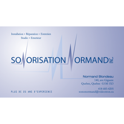 Sonorisation Normand inc.