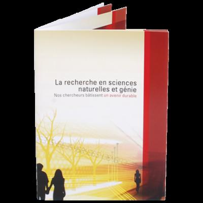 La recherche en sciences naturelles et génie