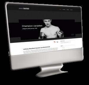 Boxeur Johnny Bouffard